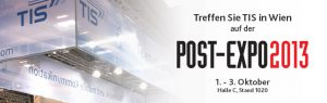 Treffen Sie Telematikanbieter TIS GmbH auf der Post-Expo 2013