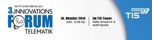 Telematikforum der TIS GmbH Innomatik 2014