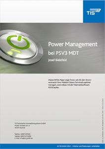 White Paper Power Management von TISLOG Handhelds - TIS GmbH