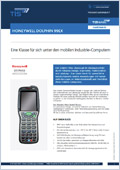 Logistik Hardware Produktdatenblatt Dolphin 99EX Downloadvorschau