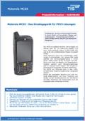 Logistik Hardware Produktdatenblatt Motorola MC55 (seit 2015 Zebra) Downloadvorschau