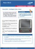 Logistik Hardware Produktdatenblatt Psion 8515 Downloadvorschau