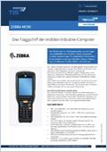 Logistik Hardware Produktdatenblatt Zebra MC95 (bis 2015 Motorola) Downloadvorschau