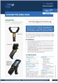 TISPLUS Scannergriff für Zebra MC95 Datenblattvorschau