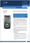 Logistik Hardware Produktdatenblatt Dolphin 7800 Downloadvorschau
