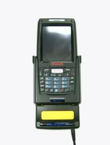 TISPLUS Hardware Zubehör für die Logistik: Fahrzeughalterung für Honeywell Dolphin 7800 frontal