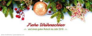 Frohe Weihnachten 2015 wünscht die TIS GmbH aus Bocholt