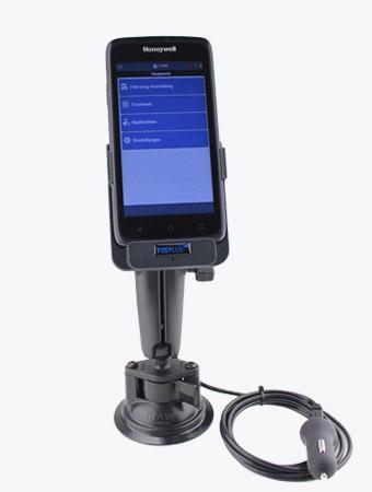 TISPLUS Hardware Zubehör: Fahrzeughalterung für Honeywell EDA50