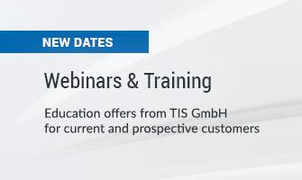 Webinars and Training at TIS GmbH