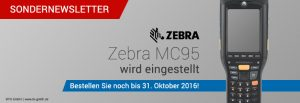 TISWARE Hardware: Zebra MC95 wird eingestellt