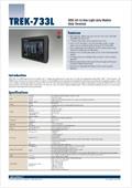 TISWARE Logistik-Hardware: Advantech DLoG TREK-733 Staplerterminal Downloadvorschau