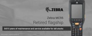 Motorola MC95 (since 2015 Zebra MC95) no longer available for purchase