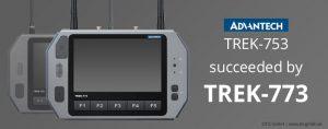 TISWARE Logistics Hardware: TREK-773 succeeded by TREK-773