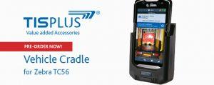 TISPLUS Hardware Accessories: Vehicle Cradle for Zebra TC56