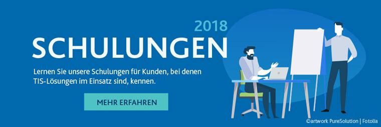 Schulungen der TIS GmbH 2018