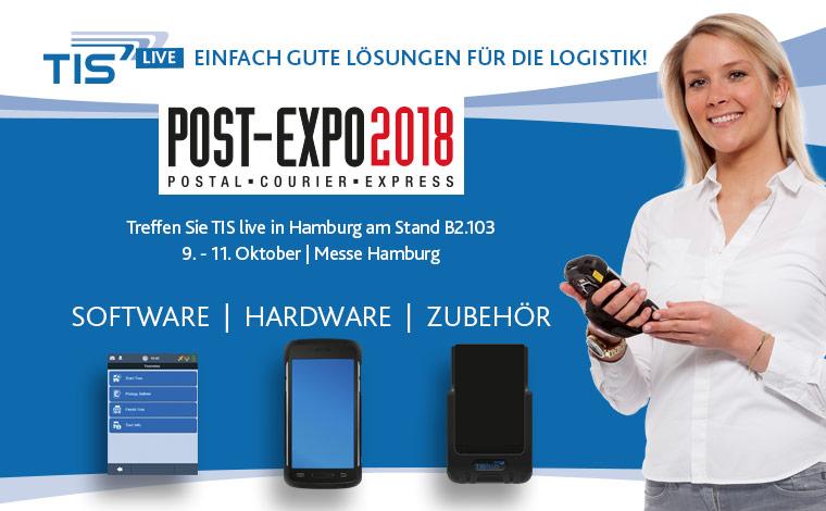 Treffen Sie TIS auf der Post-Expo 2018