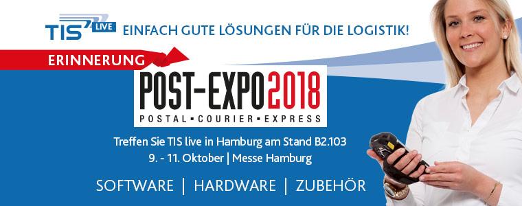 TIS GmbH auf der Post-Expo 2018