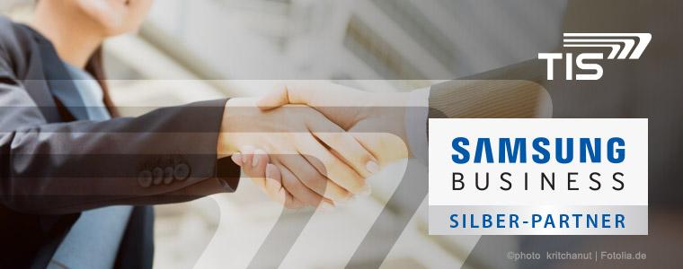 TIS ist Samsung Business Silber Partner