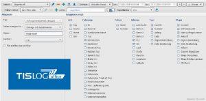 Statistik Ihrer Logistikprozesse in TISLOG office Infodesk