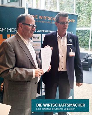 Geschäftsführer der TIS Gmbh Markus Vinke bei Die Wirtschaftsmacher