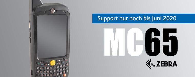 Support für Zebra MC95 wird eingestellt