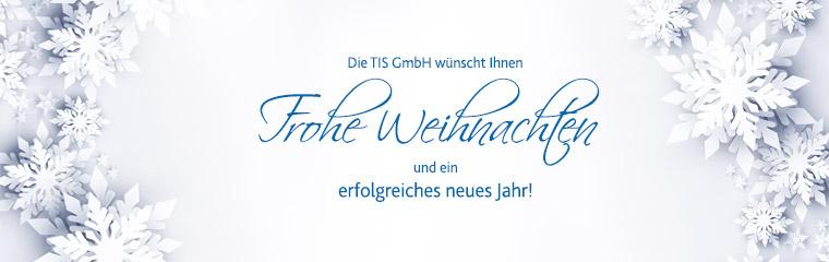 TIS GmbH wünscht frohe Weihnachten