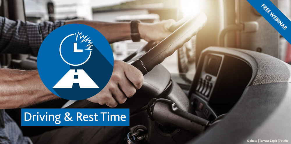 TIS GmbH Webinar Driving & Rest Time