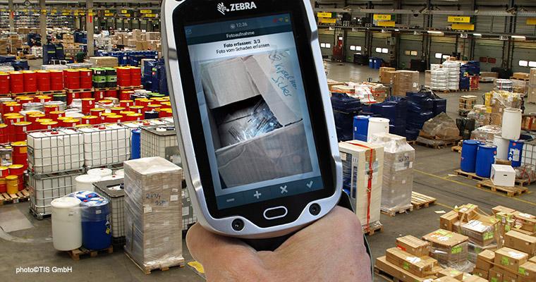 TISLOG Logistiksoftware | Schadensdokumentation