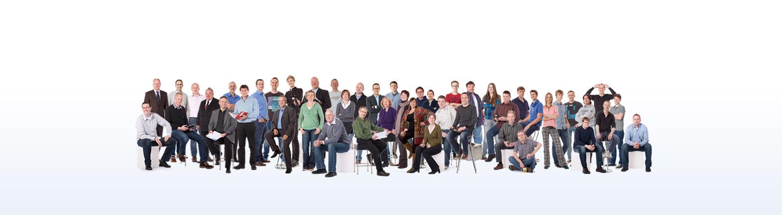 Das Team des Telematikanbieters TIS GmbH
