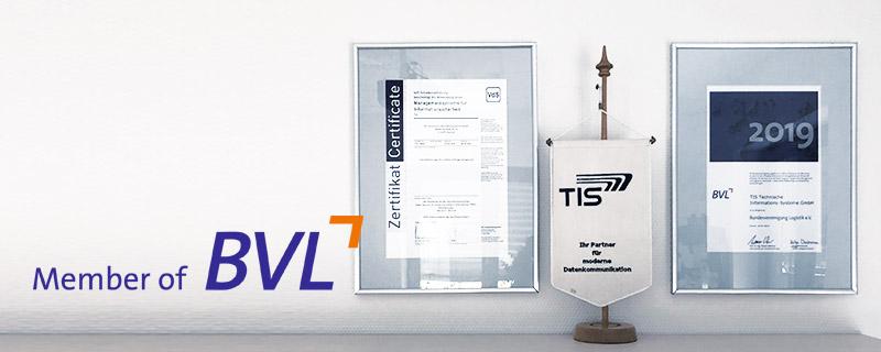 TIS GmbH ist Mitglied des BVL