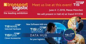 TIS GmbH at transport logistic 2019