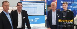Messeteam der TIS GmbH auf der transport logistic 2019