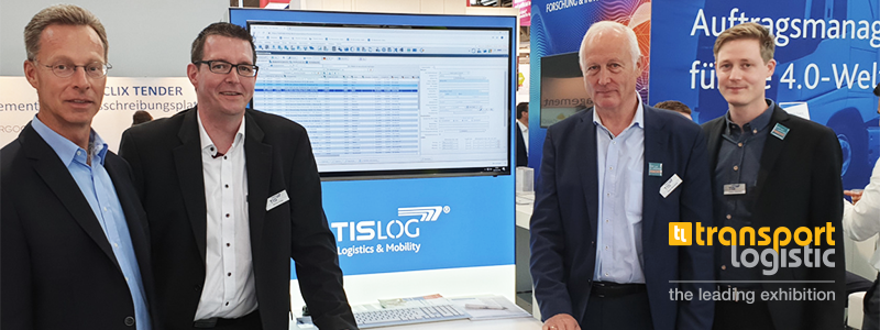TIS GmbH at record trade fair transport logistic 2019