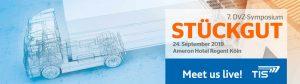 DVZ Symposium Stückgut | TIS GmbH will be there