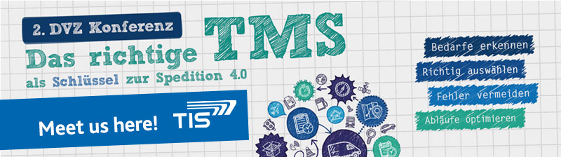DVZ Conference TMS | TIS GmbH will be there