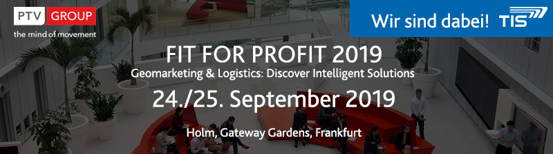Fit For Profit 2019 | TIS GmbH ist dabei