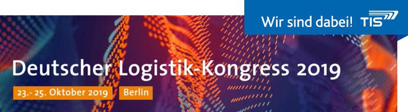 Deutscher Logistik-Kongress 2019 | TIS GmbH ist dabei