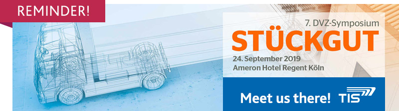 DVZ-Symposium Stückgut | TIS GmbH will be there