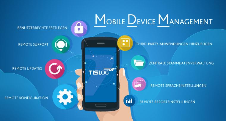 TISLOG Logistiksoftware | MDM Mobile Device Management