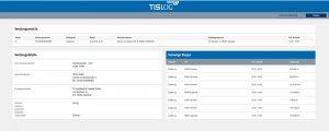 TISLOG Sendungsmonitor | Screenshot