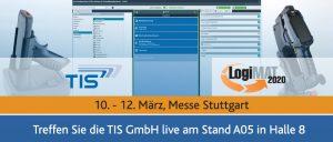 TIS GmbH auf der LogiMAT 2020