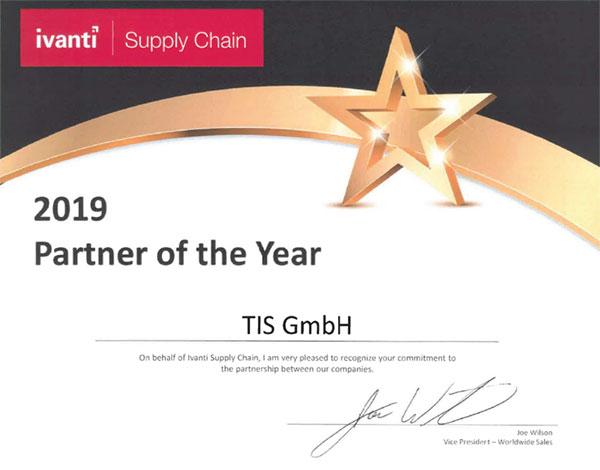 TIS ist Ivanti Partner des Jahres 2019