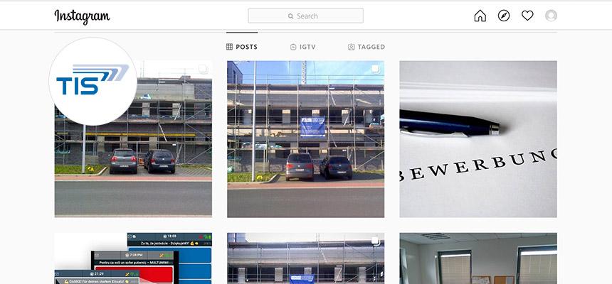 TIS GmbH auf Instagram