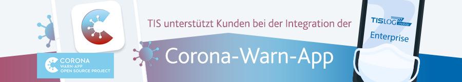 Corona Warn-App | TISLOG Logistiksoftware
