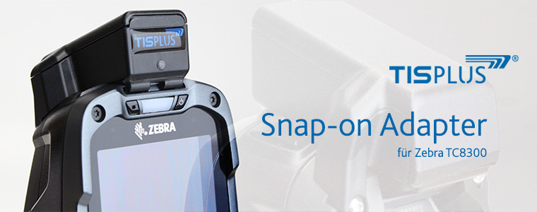 TISPLUS Snap-on Adapter für Zebra TC8300
