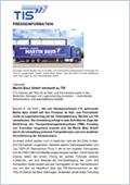 Pressemitteilung Martin Bauer Spedition | TISLOG Logistiksoftware