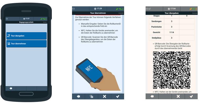 TISLOG mobile Begegnungsverkehr | Logistiksoftware