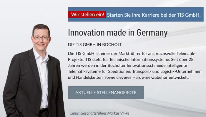 Geschäftsführer Markus Vinke | TIS GmbH