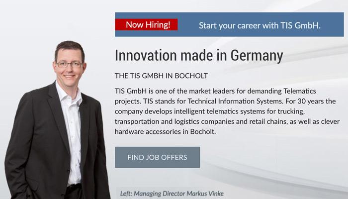 TIS GmbH | Regionaler Arbeitgeber in Bocholt