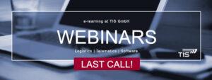 Free Webinars of TIS GmbH